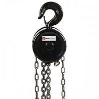 Лебедка механическая подвесная с фиксацией цепи натяжения, 3т (длина цепи - 3м) FORCEKRAFT