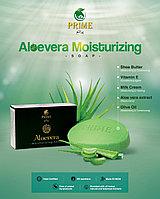 PRIME ALOEVERA MOISTURIZING SOAP Увлажняющее мыло с алоэ вера. ДЛЯ СУХОЙ КОЖИ