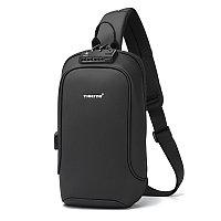 Рюкзак мини/слинг сумка через плечо (кросс-боди) Tigernu T-S8102A черный