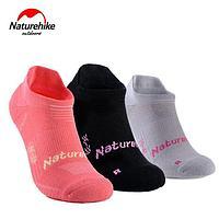 Носки лодочки женские Naturehike NH17A015-W 3 пары