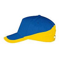 Бейсболка BOOSTER 260, 5 клиньев, металлическая застежка, Синий, -, 700595.974