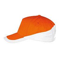 Бейсболка BOOSTER 260, 5 клиньев, металлическая застежка, Оранжевый, -, 700595.982