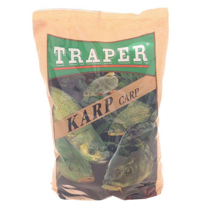 Прикормка Traper Карп, вес 750 г