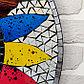 "Панно зеркальное ""Разноцветное солнце"" 60х1х60 см, фото 2"