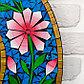 """Панно зеркальное """"Цветы"""" 60х1х60 см, фото 2"""