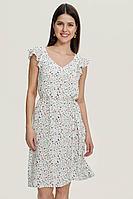Женское летнее из вискозы белое платье MALKOVICH 9916120 0279 42р.