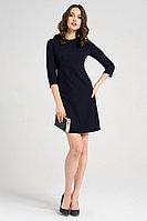 Женское летнее синее деловое платье Панда 60283z темно-синий 42р.