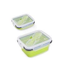 Складной пищевой контейнер 600мл  Naturehike NH18G001-J, фото 1
