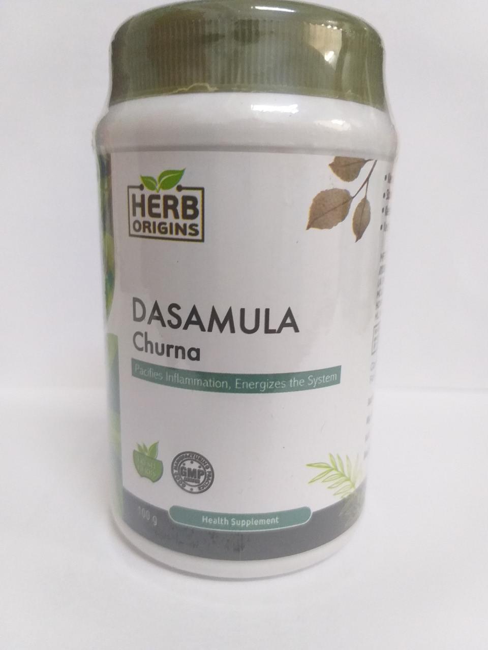 Дашамула чурна, 100 гр, Herbs Origins. Dasamula Churna, для очищения организма