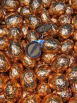 Шоколадные яйца (Золотые с полоской) 1кг