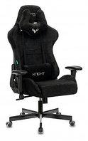 Кресло игровое Zombie VIKING KNIGHT Light-20 черный ткань с подголов. крестовина металл