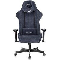 Кресло игровое Zombie VIKING KNIGHT Light-27 синий ткань с подголов. крестовина металл, фото 1