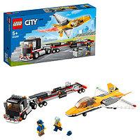 LEGO City 60289 Конструктор ЛЕГО Город Great Vehicles Транспортировка самолёта на авиашоу