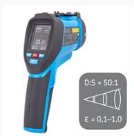 TKTL 40 Инфракрасный термометр с функцией записи данных