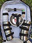 Набор для пикника на 6 персон в рюкзаке, фото 3