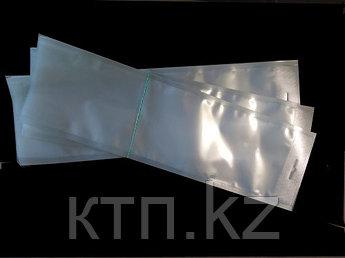 Прозрачные вакуумные пакеты с еврослотом 120*400 65мкм