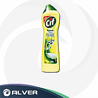 Крем для чистки CIF Лимон 500мл (Жёлтый)