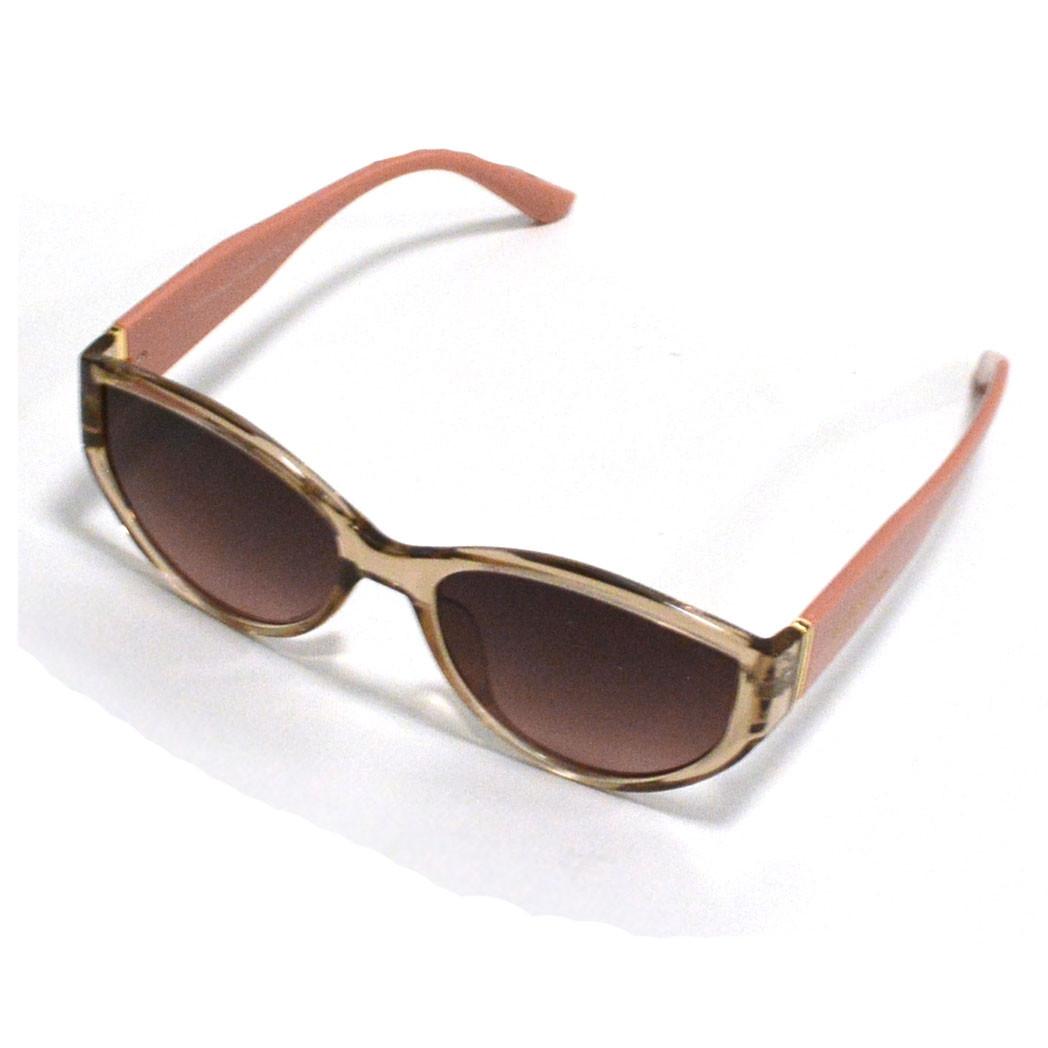 Солнцезащитные очки с коричневыми стеклами с широкой розовой дужкой Balenciaga 2125 - фото 5