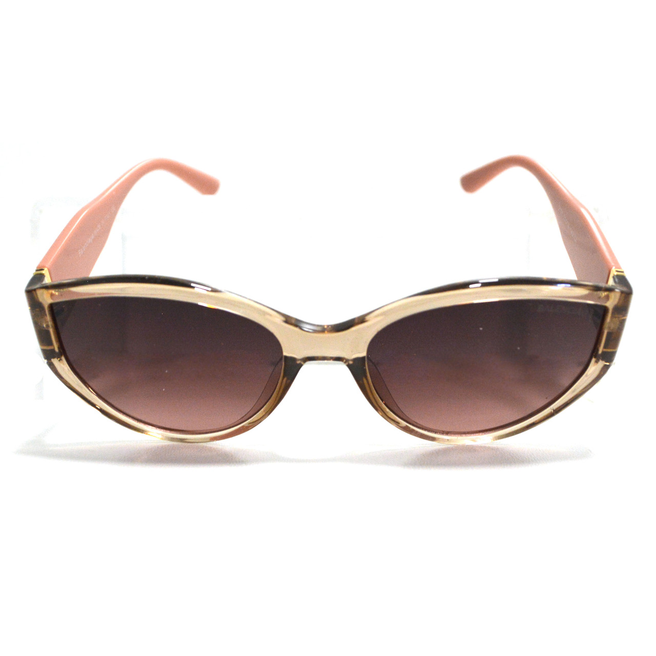 Солнцезащитные очки с коричневыми стеклами с широкой розовой дужкой Balenciaga 2125 - фото 9