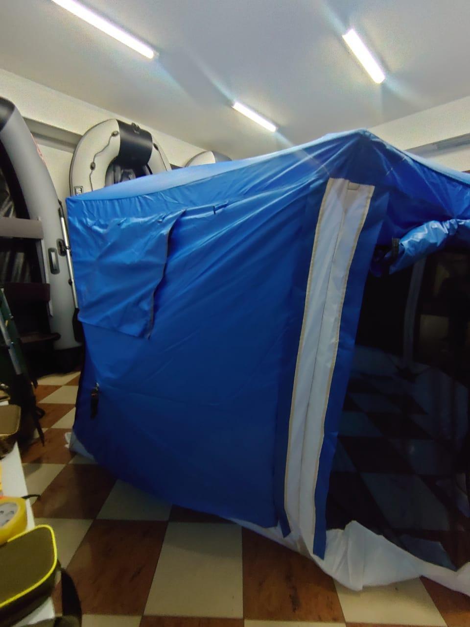 Шатер туристический Палатка БЕСЕДКА для охоты, рыбалки, тур похода Размеры 365*320*225 см - фото 2