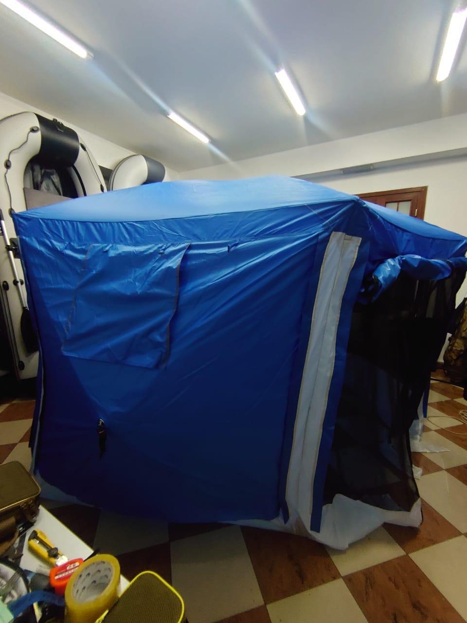 Шатер туристический Палатка БЕСЕДКА для охоты, рыбалки, тур похода Размеры 365*320*225 см - фото 3