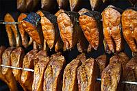 Стандартные программы горячего копчения рыбы