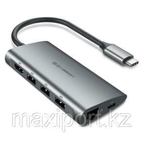 Адаптер Ugreen 8в1 для MacBook/iPad/Lenovo/Xiaomi, фото 2