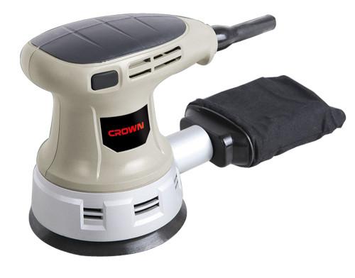 Эксцентриковая шлифовальная машина CROWN CT 13395 .450 Вт