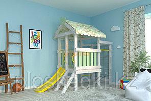 Детская площадка Савушка BABY-13, оливковый.