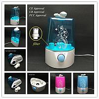 Увлажнитель воздуха Ultrasonic Air Humidifier (белый с голубым) HD-1349