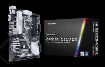 Материнская плата S-1200 Biostar Z490A-Silver