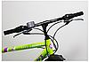 """Велосипед Torrent City Cruiser, внедорожный, 18 скоростей, колеса 26д, рама сталь 18"""",Зеленый/желтый, фото 2"""