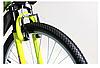 """Велосипед Torrent City Cruiser, внедорожный, 18 скоростей, колеса 26д, рама сталь 18"""",Зеленый/желтый, фото 4"""