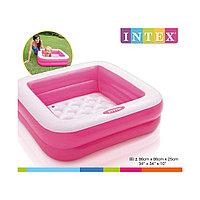 Надувной бассейн INTEX 57100NP (85 × 85 × 23 см)