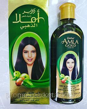 Масло для волос Амла Голд Дабур для увлажнения и восстановления волос 200мл