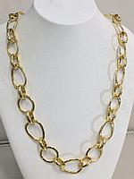 Колье / бижутерия покрытая золотом 18 К - 65 см