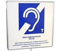 Настенная информационная индукционная система с интегрированным устройством воспроизведения