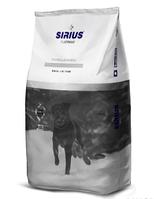 Сухой полнорационный корм для взрослых собак Утка с овощами ТМ «SIRIUS» (3 кг)