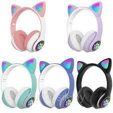 Беспроводные наушники Wireless Cat STN-28