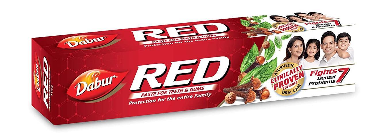 Зубная паста Red toothpaste Dabur 100 мл