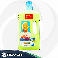 """Средство для мытья пола MR PROPER """"Лимон"""" 1.5л"""