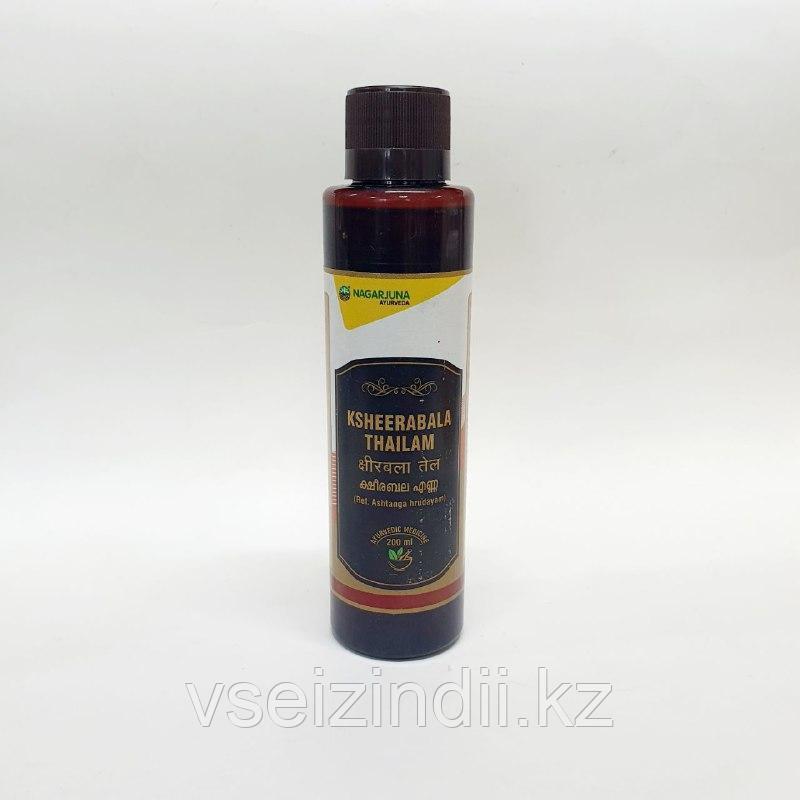 Масло Кширабала Тайлам (Ksheerabala Thailam) 200 мл, ревматизм, артрит, болеутоляющее, противовоспалительное