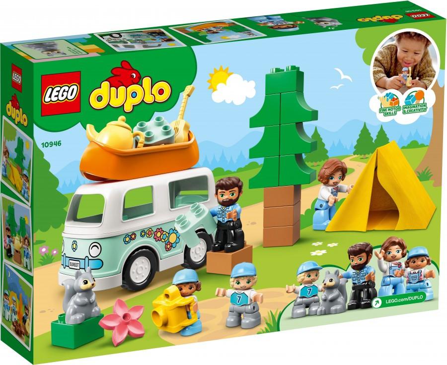 10946 Lego Duplo Семейное приключение на микроавтобусе, Лего Дупло