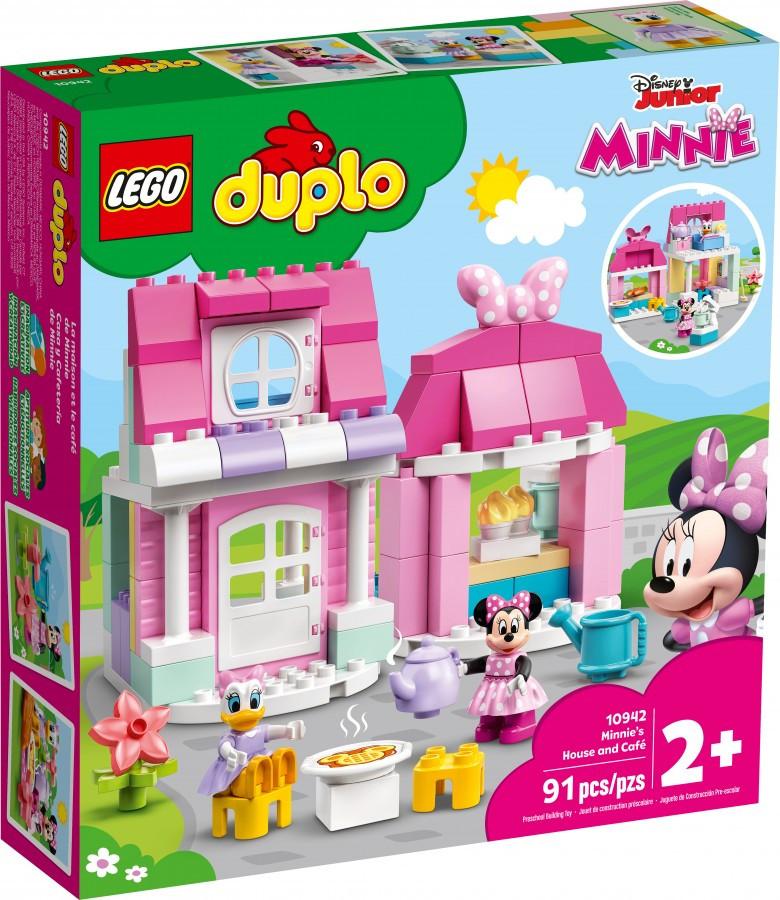 10942 Lego Duplo Disney Дом и кафе Минни, Лего Дупло