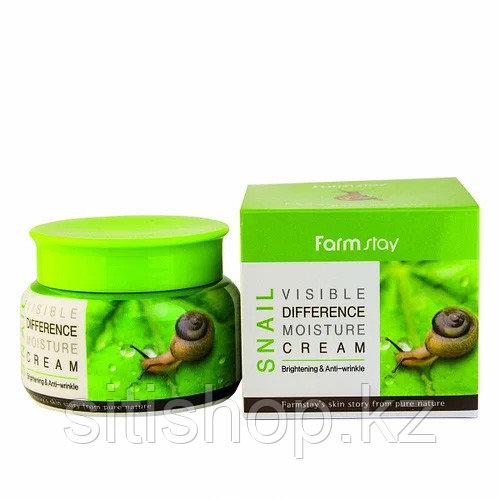 Farm Stay Visible Difference Moisture cream Snail - Крем для лица с муцином улитки 100 гр