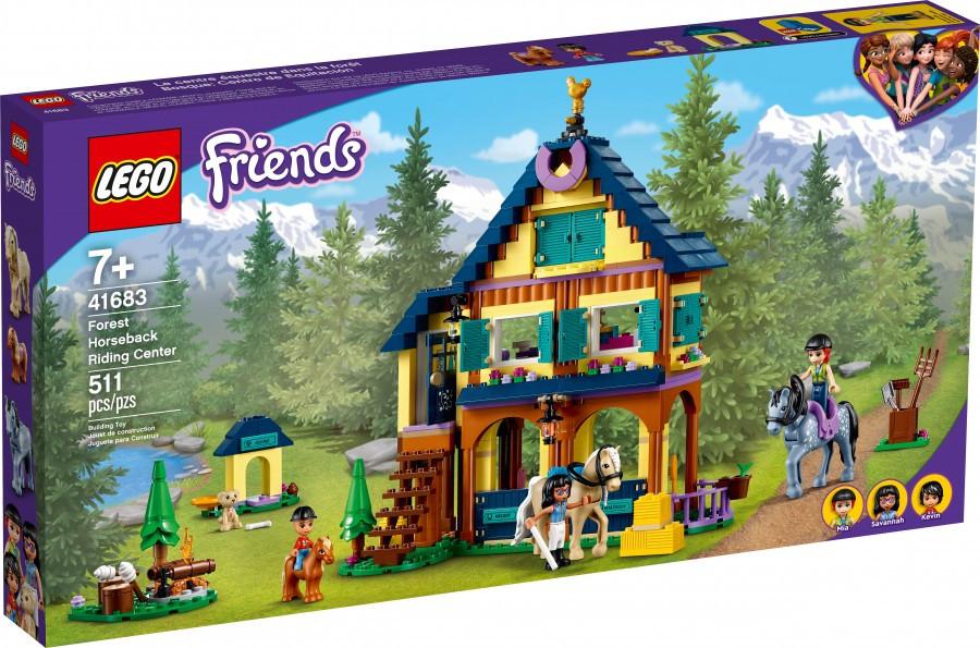 41683 Lego Friends Лесной клуб верховой езды, Лего Подружки