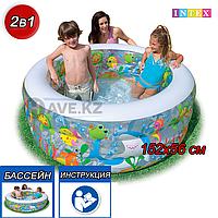 Детский надувной бассейн Intex 58480, размер 152х56 см