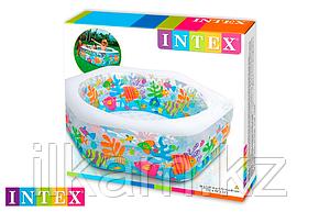 Детский надувной бассейн Intex 56493, размер 191х178х61 см, фото 2