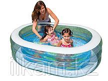 Детский надувной бассейн Intex 57482, размер 163 x 107 x 46 см, фото 2