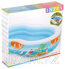 Детский надувной бассейн Intex 56490, Райская Лагуна, 262х160х46, фото 3